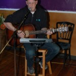 Dave Stanley - Performing at the BC Songwriters' Showcase Open Mic, at NY Grill & Bistro in Langley, BC