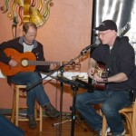 Dave Stanley (accompanied by Dave Mercer) - Performing at the BC Songwriters' Showcase Open Mic, at NY Grill & Bistro in Langley, BC