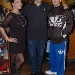 Friendly management and staff at NY Grill & Bistro in Langley, home of the BC Songwriters' Showcase