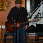 Ken Johnson, performing at the BC Songwriters' Showcase Open Mic in Langley