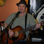 Earl Travis Taylor, playing the Open Mic at BC Songwriters' Showcase