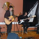Rayneman playing the BC Songwriters' Association's Songwriter Showcase at NY Grill & Bistro in Langley