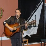 Dan Beer, playing the BC Songwriters Showcase Open Mic
