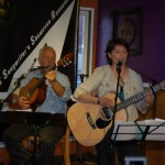 Patricia Dunphy & Bruce Rudolph performing at the BC Songwriters' Showcase in Langley — at BC Songwriters' Showcase Association.