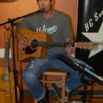 Marko Segovic performing at the BC Songwriters Showcase' Open Mic, in Langley