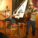 Dave Mercer & Earl Travis Taylor perform at the Two Hour Jam, at the BC Songwriters' Showcase Association, in Langley