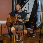 David Borys shared a couple of his original songs at the BC Songwriters' Open Mic