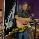Dale Sawatzky and Friends playing the BC Songwriters' Songwriter Showcase, in Langley