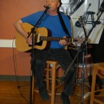 Warren Hunter playing the BC Songwriters' Open Mic, in Langley