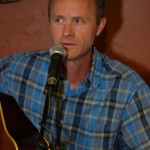 Dave Mercer, playing the BC Songwriters' Songwriter Showcase, in Langley