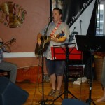 Dan Beer (accompanied by Jon & Kat Goheen) playing the BCSSA's Songwriter Showcase