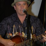 Earl Travis Taylor playing at BC Songwriters' Open Mic at NY Grill & Bistro in Langley