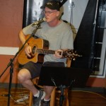 Dave Stanley, performing at the BC Songwriters' Open Mic, in Langley