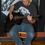 Ryan James, of Eleanor Rising, playing an acoustic set, at the BC Songwriters' Showcase