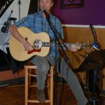 Dave Mercer, performing at the BC Songwriters' Open Mic