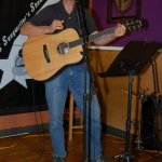Rob Harvey, performing at the BC Songwriters' Open Mic