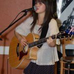 Alyssa Baker playing the BC Songwriters' Showcase