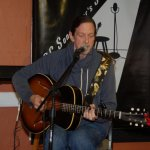 John Haynes (the Psychic Cowboy) - playing the BC Songwriters' Open Mic in Langley