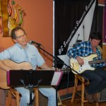 Robert Harvey & Mickey Hovan performing at the BCSSA's Songwriter Showcase