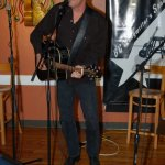 JD Dredge, playing the BC Songwriters' Open Mic