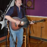 Trent Olver, playing the BC Songwriters' Open Mic