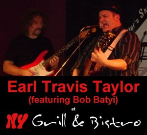 Earl & Bob - Earl Tavis Taylor & Bob Batyi playing the Songwriter Showcase at the BCSSA, held at NY Grill & Bistro