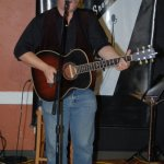 Trent Olver playing the BC Songwriters' Open Mic