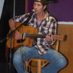 Marko Segovic, performing at the BC Songwriters' Open Mic, in Langley - BCSongwriters.ca