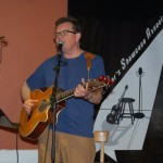 Poul Bech, performing at the BC Songwriters' Open Mic, in Langley - BCSongwriters.ca
