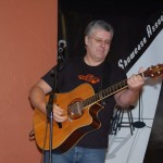 Roger Potter, performing at the BC Songwriters' Open Mic, in Langley - BCSongwriters.ca