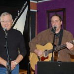 Dan Beer, accompanied by Jim McGregor - performing at BC Songwriters' Open Mic - BCSongwriters.ca