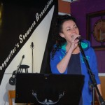 KerryLee Manuel - performing at BC Songwriters' Open Mic - BCSongwriters.ca