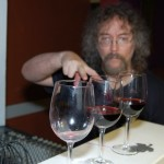 "Bob the Sound Guy, working to create a ""scales-worth"" of wine glasses - BCSongwriters.ca"