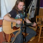 Jamie Zago, performing at the BC Songwriters' Showcase - BCSongwriters.ca