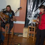 Patricia Dunphy & Jamie Zago, performing at the BC Songwriters' Showcase - BCSongwriters.ca