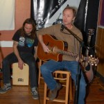 Dave Mercer - accompanied by Jamie Zago, performing at the BC Songwriters' Showcase & Open Mic - BCSongwriters.ca