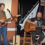 Jamie Zago - accompanied by Dave Mercer, performing at the BC Songwriters' Showcase & Open Mic - BCSongwriters.ca