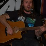 Jamie Zago - performing at the BC Songwriters' Showcase & Open Mic - BCSongwriters.ca