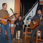 Earl Travis Taylor, accompanied by Dave Mercer & Jamie Zago, at the BC Songwriters' Open Mic - BCSongwriters.ca