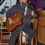 Earl Travis Taylor, playing at the BC Songwriters' Open Mic - BCSongwriters.ca