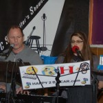 Ken & Denise, of Happy 2 B Hear, performing at the BC Songwriters' Showcase - BCSongwriters.ca