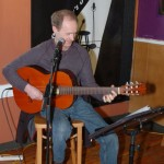 Dave Mercer performing at the BC Songwriters' Open Mic - BCSongwriters.ca