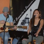 Glen Mager & MariLou, performing at the BC Songwriters' Open Mic - BCSongwriters.ca