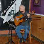 Bruce W. Rudolph playing at the BC Songwriters' Open Mic - BCSongwriters.ca