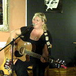 Delaney Rose performing at the BC Songwriters' Showcase