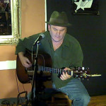 Earl Travis Taylor - performing at the BC Songwriters' Open Mic