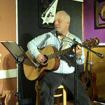 Bruce W. Rudolph - playing the BC Songwriters' Open Mic