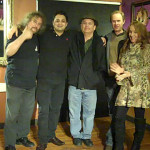 "BC Songwriters' crew, posing for an ""after-Showcase"" picture with Mani from NY Grill & Bistro - BCSongwriters.ca"