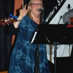 Susanne Tryphena, of The Flying Ritas, performing at the BC Songwriters' Showcase - BCSongwriters.ca