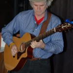 Will Firstbrook, of The Flying Ritas, performing at the BC Songwriters' Showcase - BCSongwriters.ca